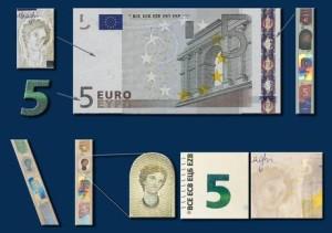 BCE: DOMANI DRAGHI PRESENTA NUOVA BANCONOTA 5 EURO