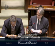 Ministro Brunetta - Question Time - Camera dei deputati 13-09-2013