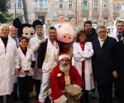 AssoTutela - Policlinico Umberto I - Babbo Natale, Peppa Pig e sorrisi per i più piccini