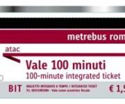Metrebus - biglietto 100 minuti