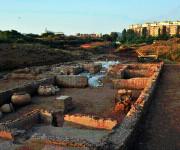 La villa romana ritrovata nell'area dell'i-60