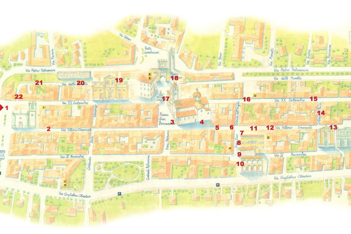 FESTIVAL GABER - Domani a Camaiore Le Strade di Notte e mappa