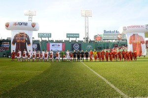 Roma e Liverpool al Fenway park di Boston