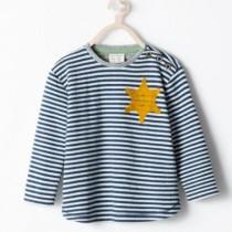 Antisemitismo - polemica pigiama bambino con sella di Davide - Zara
