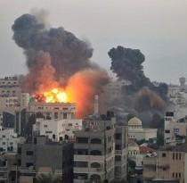bomba-israeliana-sulla-striscia-di-gaza-300x205
