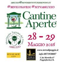 BEVI AD ARTE in Cantine Aperte 2016 a Poggiofiorito (Ch)