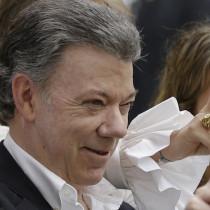 Juan Manuel Santos (AP Photo/Ricardo Mazalan)