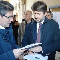 Il presidente Bondi con il ministro Franceschini