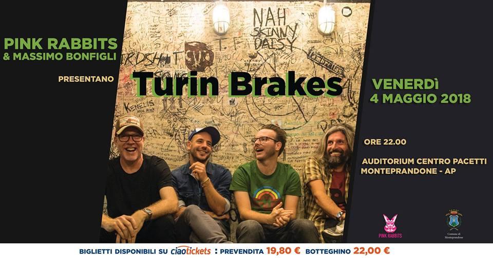 Turin Brakes a Monteprandone