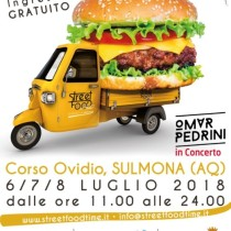 locandina Street Food Time Sulmona