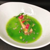 tonno in olio cottura con verdure croccanti in osmosi